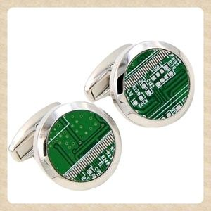 Other - Circuit Board Cufflinks